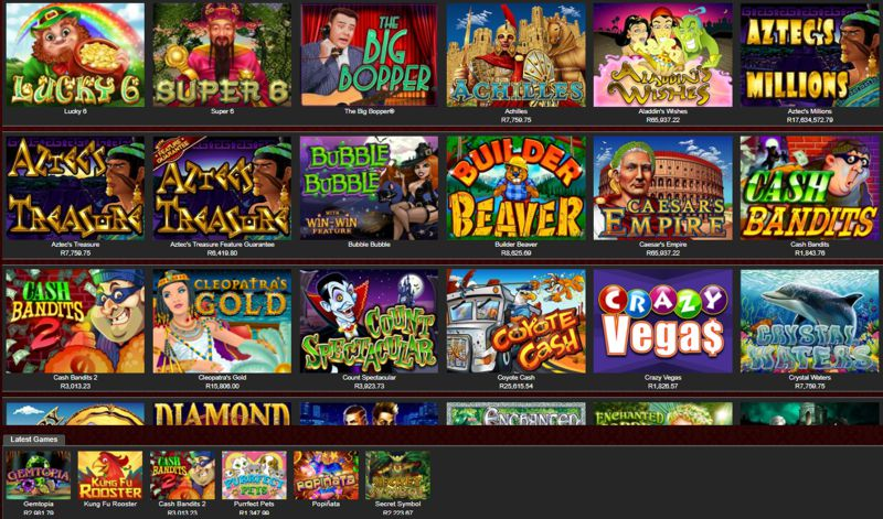 Silver Sands Casino Games