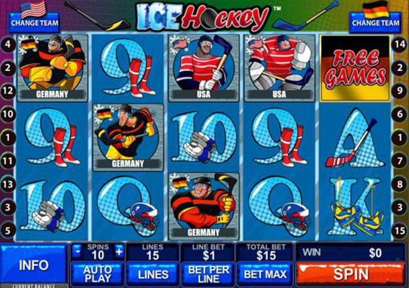 Ice Hockey Slot Review