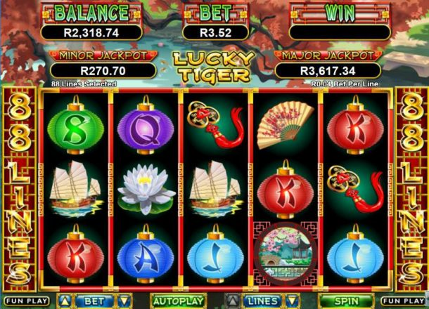 Lucky Tiger Slot Game