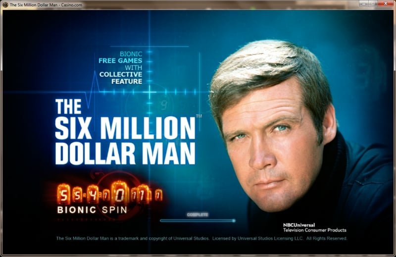 The Six Million Dollar Man Video Slot Review