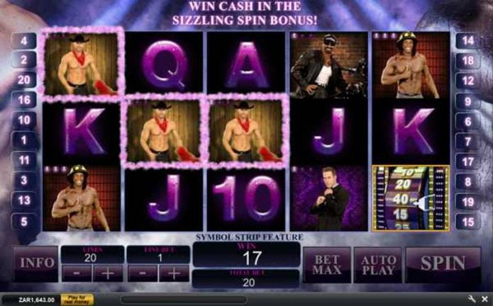 Chippendales Slot Game