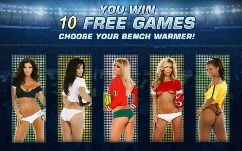 Benchwarmer Football Girls Slot Review