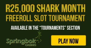Shark Month Slots Tournament