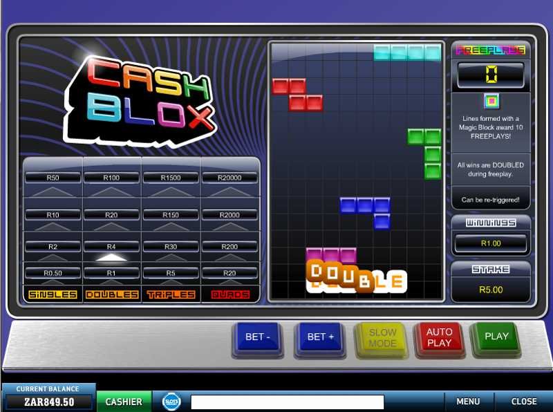 Cash Blox Slot Game