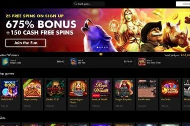 Black Diamond Casino Website