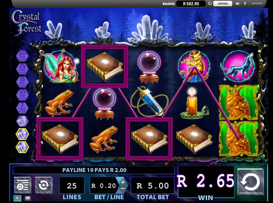 crystal forest slot machine download