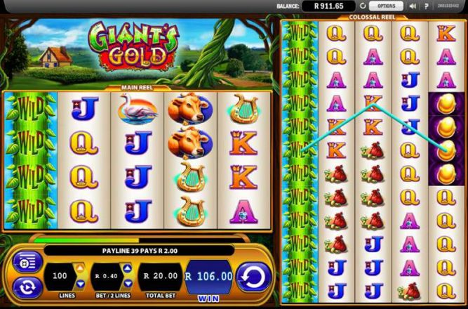 Giants Gold Slot Game