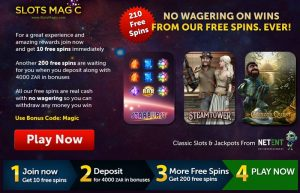 Slots Magic Casino South AFrica