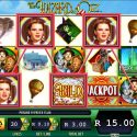 The Wzard of OZ Ruby Slippers Slot Game