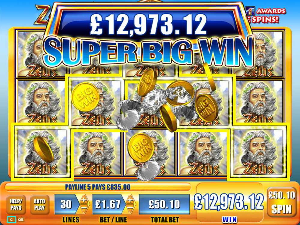 Great Zeus Slots – Play Online Casino Games by WMS for Free