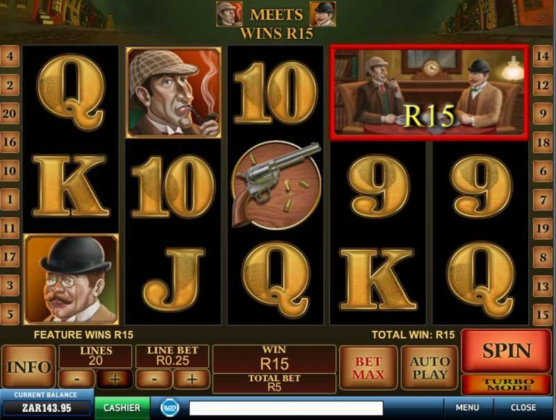 Sherlock Mystery Slot Game