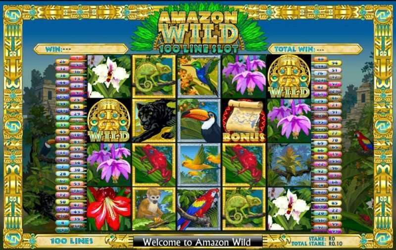 Play Amazon Wild Slot Game