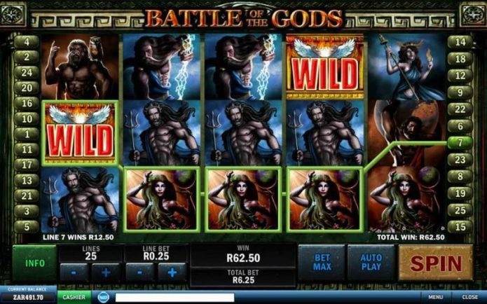 Battle of the Gods Slot Game