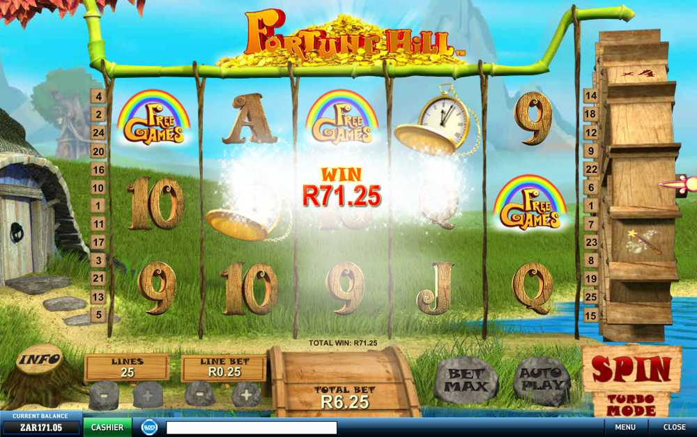Play Fortune Hill Slot Game