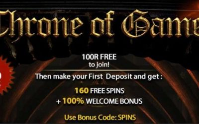 Throne of Games Promotion at Slots Magic Casino
