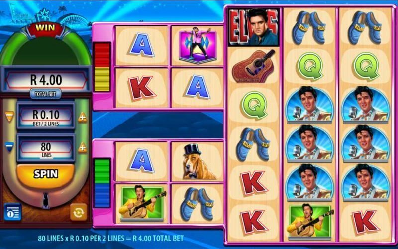 Play Elvis the King Lives Video Slot