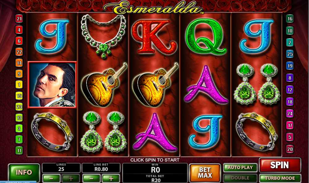 Esmeralda Video Slot Review