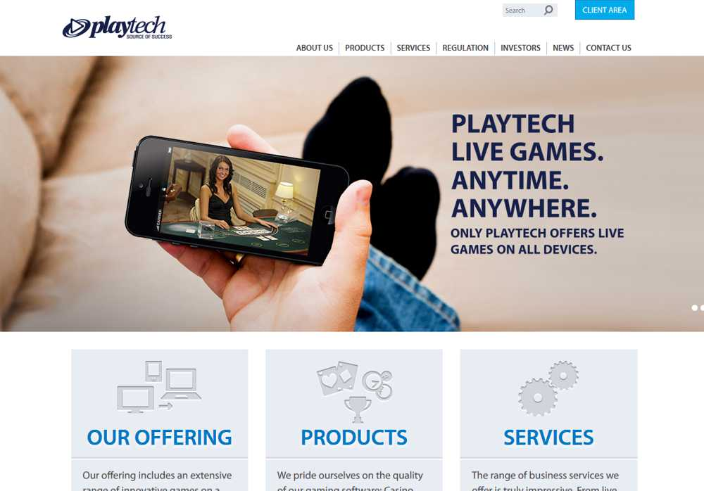 Playtech Gaming Software