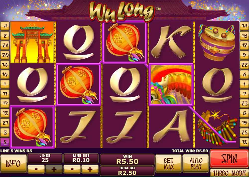 Wu Long Video Slot