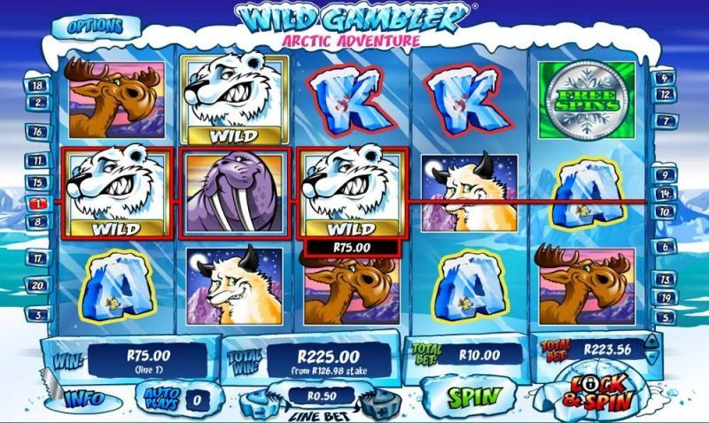 Play Wild Gambler 2: Arctic Adventure Slots Online at Casino.com India