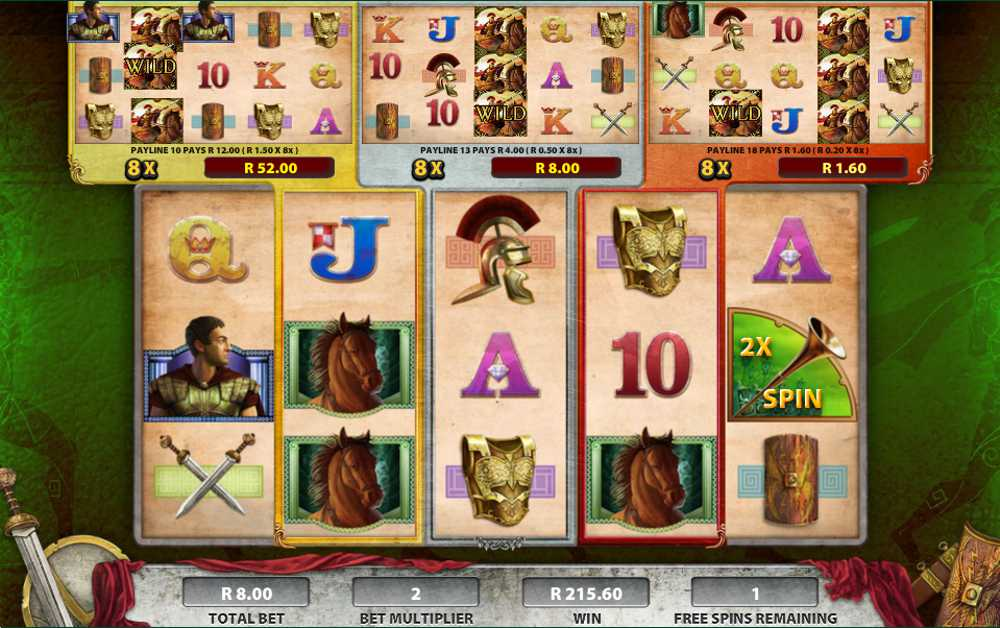 Roman Chariots Video Slot Review