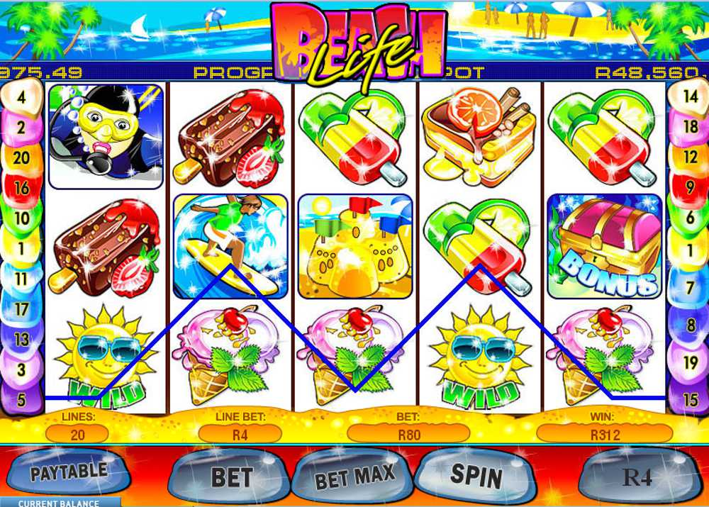 Play Beach Life Slots Online at Casino.com South Africa