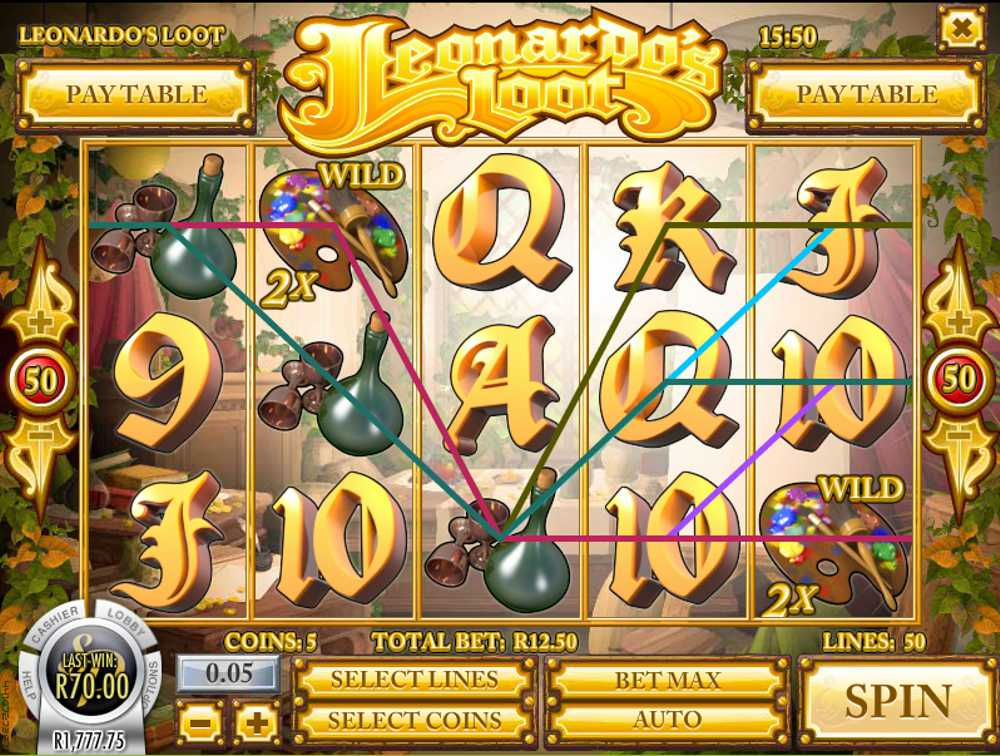 Leonardo's Loot Slot Review