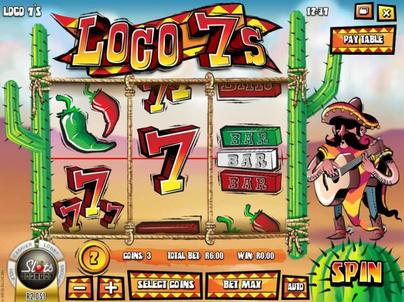 Loco 7's Slot GAme