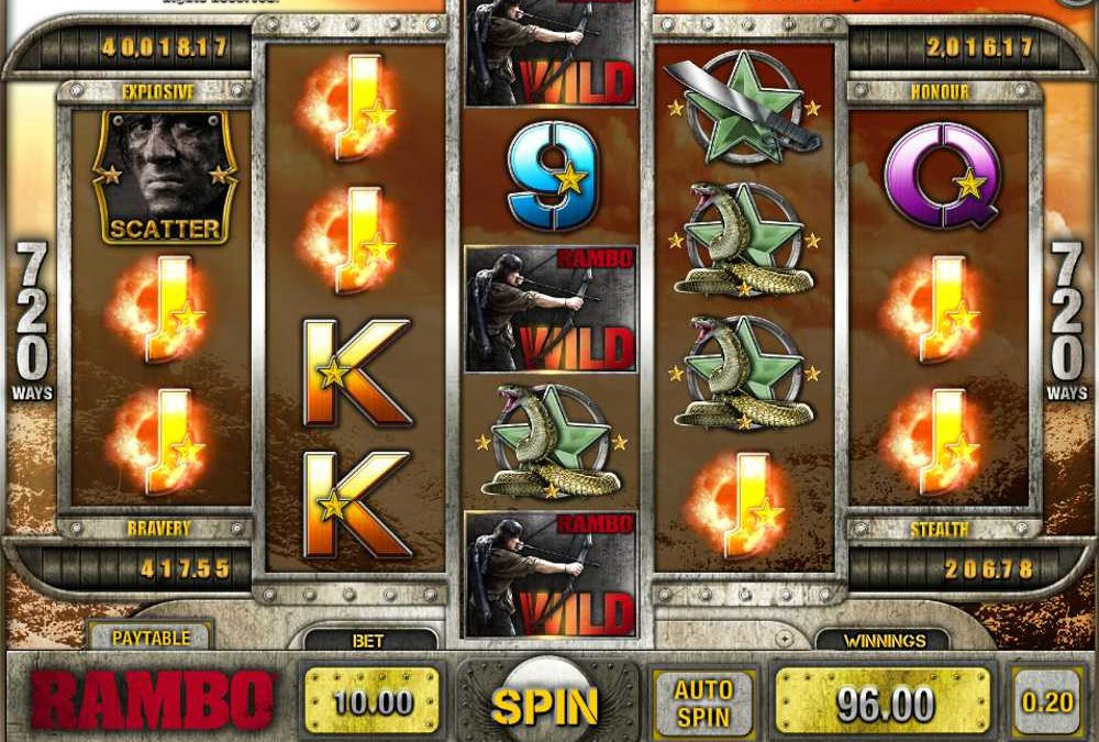 Rambo Slot Game Review