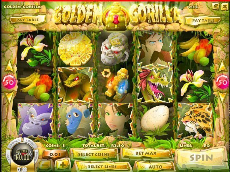 Golden Gorilla Slot at Superior Casino