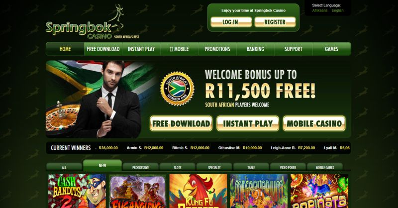Springbok Casino Reports Record Growth in 2018