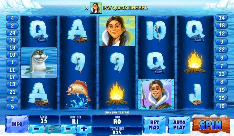 Play Ice Run Slots at Casino.com South Africa