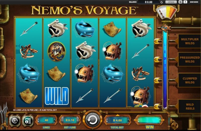 Captain Nemo™ Slot Machine Game to Play Free in Amayas Online Casinos