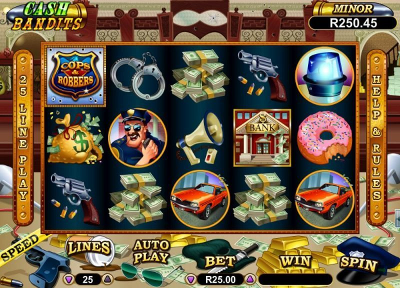 Cash Bandits Slot Review