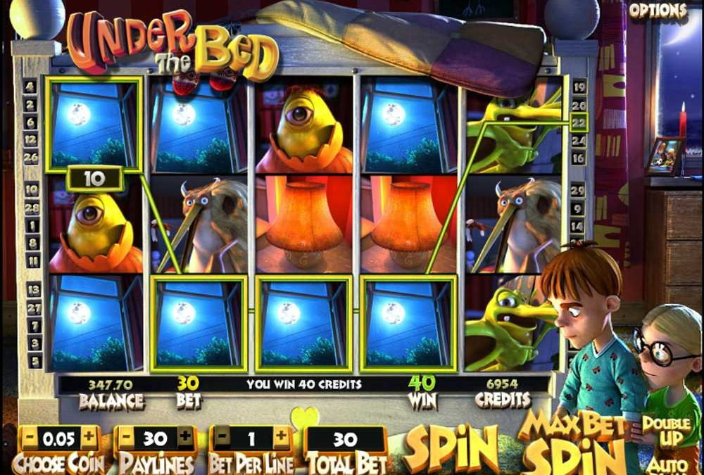 Under the Bed Online Slot Review