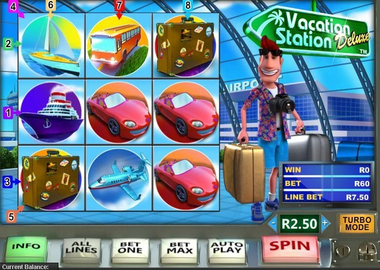 Play Vacation Station Slots Online at Casino.com South Africa