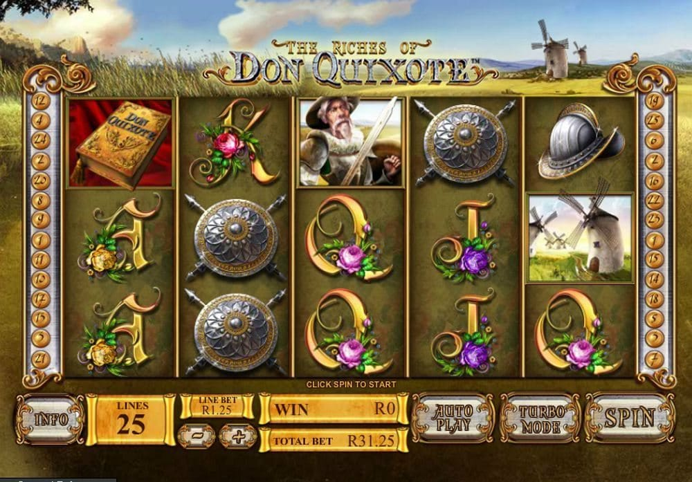 Play The Riches of Don Quixote Online Slot game at Casino.com NZ