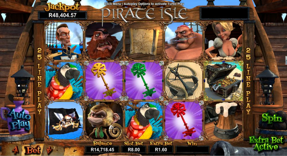 Pirate Isle 3D Video Slot Review