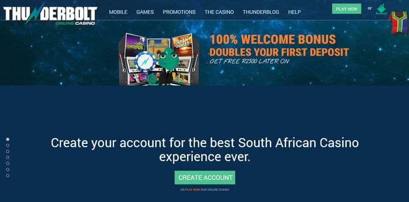 Thunderbolt's Thando is Travelling SA for Casino Bonuses