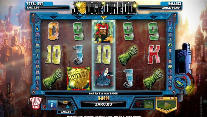 Judge Dredd Slot Game