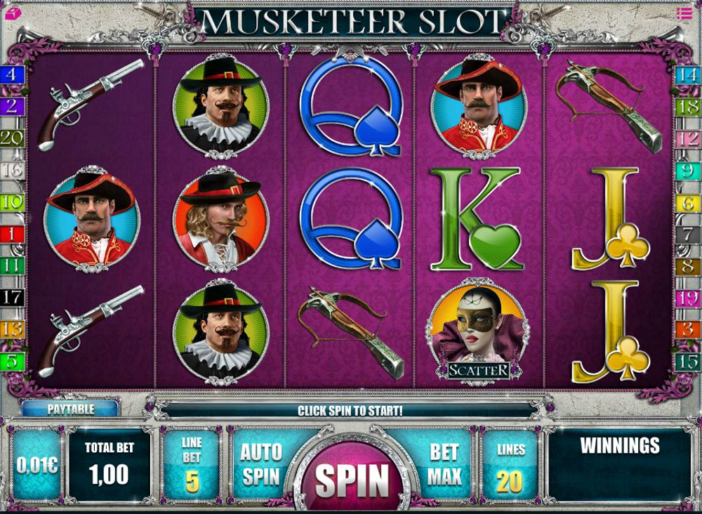 Musketeer Slot Review