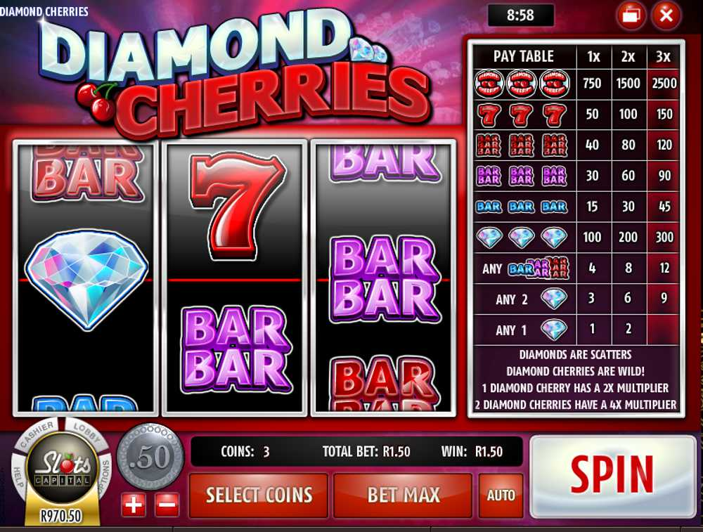 Diamond Cherries Slot Launched by Rival Gaming