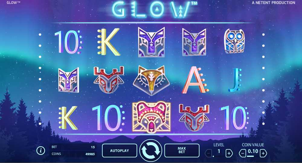 Glow Slot Released at NetEnt Casinos