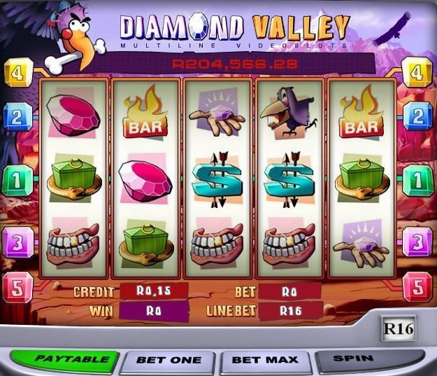 Playtech's Diamond Valley Pays Out $184,520