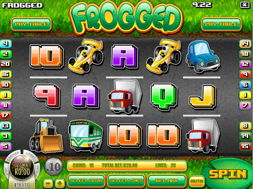 Rival Releases Frogged Video Slot