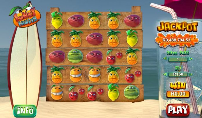 Funky Fruits Progressive Slot