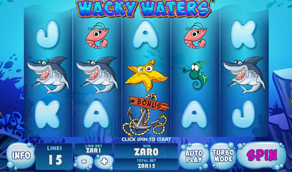 Enjoy Wacky Waters at Playtech Casinos