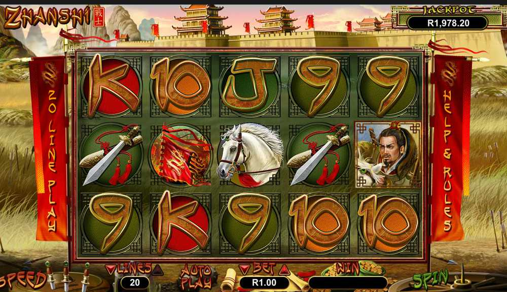 Realtime Gaming Releases Zhanshi Slot