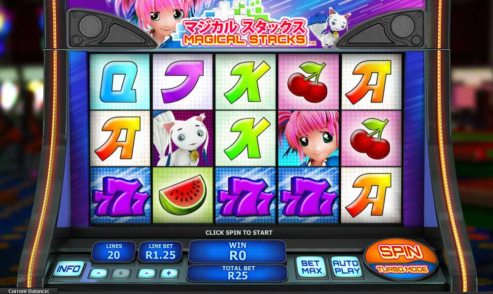 Play Magical Stacks Slot at Casino.com Canada