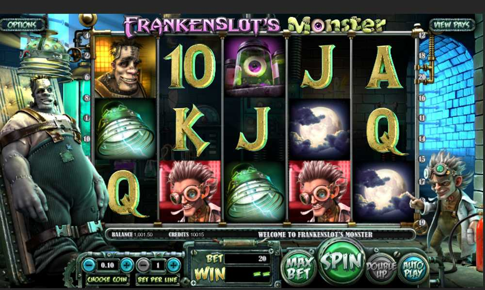 Frankenslot's Monster Slot Review